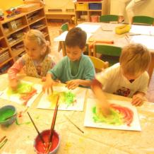 Malujeme škrobem